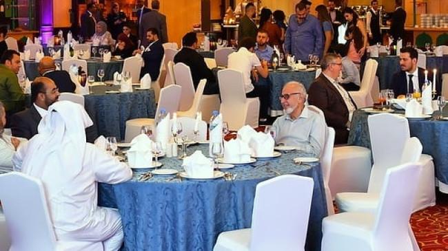 Gül İnşaat Katar'da Düzenlediği Yemekte Önemli Misafirler Ağırladı