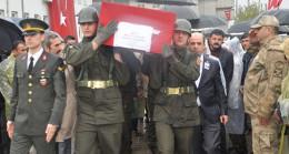 Şehit güvenlik korucusu Mehmet Sevgin'in cenazesi toprağa verildi
